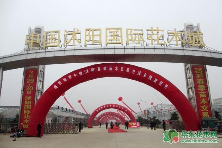 中国沭阳国际花木城东大门