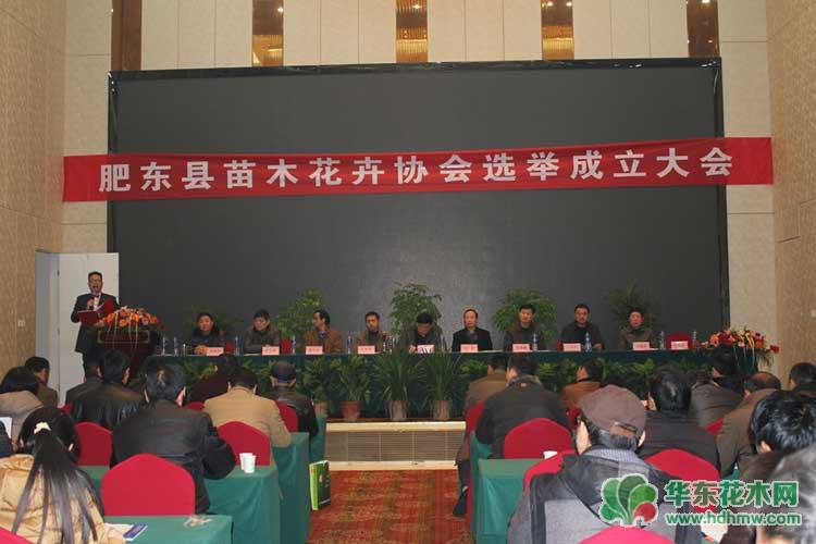 花木协会成立大会